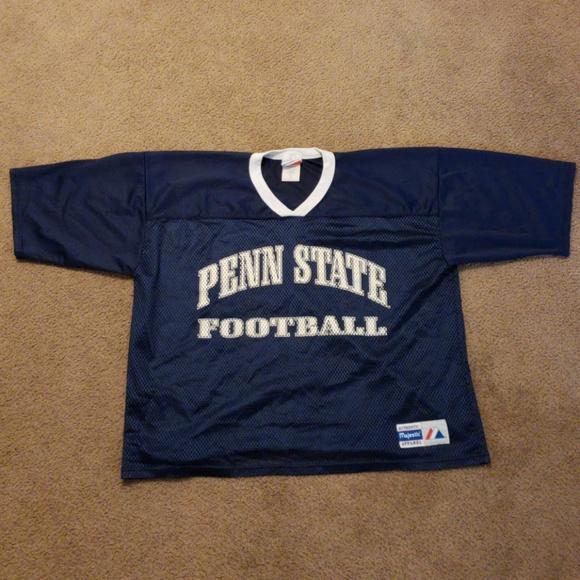 the latest 20375 8a139 VTG Penn State University PSU Football Jersey NCAA
